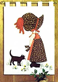 product image for Holly Hobbie Wall Hanging Simplicity 6544 Vintage Sewing Pattern
