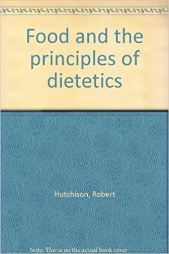 Book Food and the Principles of Dietetics