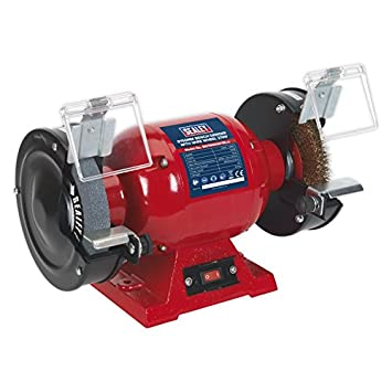 Peachy Sealey Bg150Xlw 98 150Mm Bench Grinder With Wire Wheel Caraccident5 Cool Chair Designs And Ideas Caraccident5Info