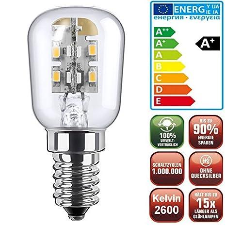 LED lámpara de bajo consumo Mini nevera (E14, sólo 1,7 W, bombilla ...