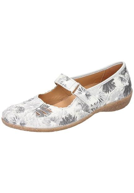 Comfortabel Damen-Slipper Weiß 942176-3, Grösse 37