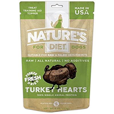 Nature's Diet Pet Raw Freeze Dried Grain Free Dog Treats (Turkey)