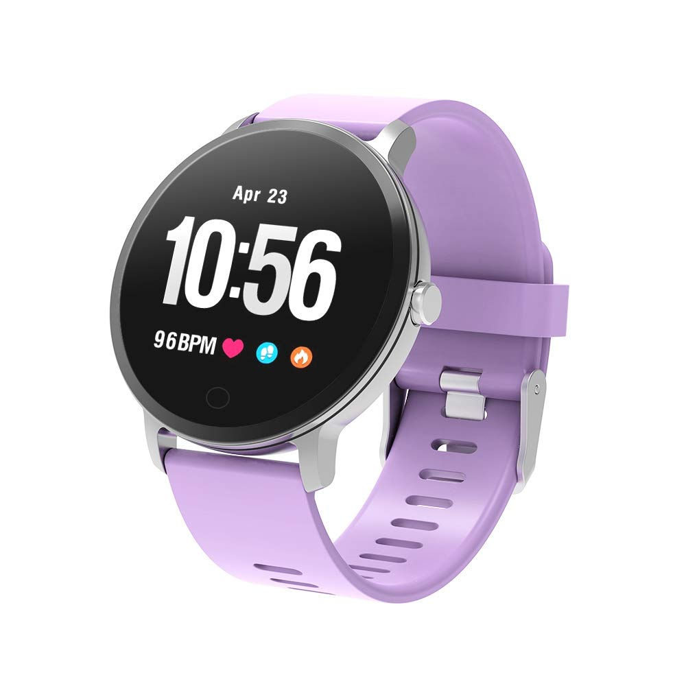 BingoFit Epic Fitness Tracker Smart Watch, Activity Tracker with Heart Rate Monitor, Waterproof Pedometer Watch with Sleep Monitor, Step Counter for Kids Women Men Gifts for New Years by BingoFit (Image #1)