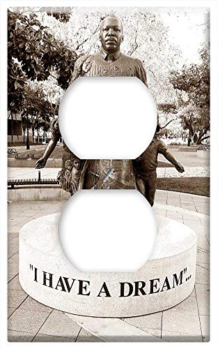 Switch Plate Outlet Cover - Martin Luther King Jr Dream American Freedom