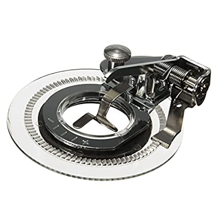 XuMarket (TM) pie prensatelas de bordado de disco accesorios de herramientas hogar máquina de