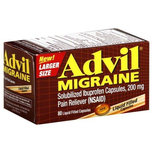 (ADVIL MIGRAINE GC 200MG 80 (Original Version))