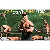 (22x34) John Cena (You Cant See Me, Action) Sports Poster Print