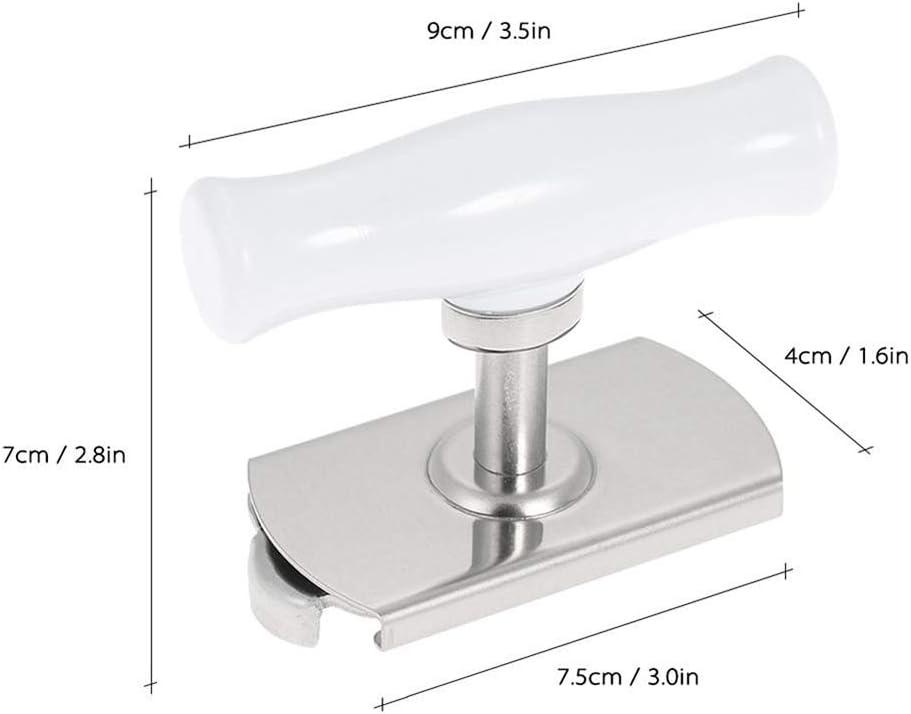 Dispositivo di rimozione del Coperchio con Guarnizione a Spirale apriscatole Salva Lavoro shuny Apriscatole in Acciaio Inossidabile Avvitatore per Apertura Bottiglia 1-4 apriscatole per artrite