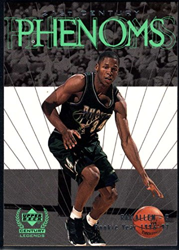 Basketball NBA 1999-00 Upper Deck Century Legends #67 Ray Allen NM-MT+ Bucks