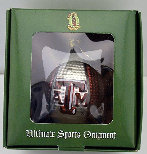 Scottish Christmas Ultimate Sports Ornament Texas A&M Aggies Basketball Blown Glass Christmas Holiday Tree Ornament