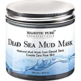 #5: Majestic Pure Natural Dead Sea Mud Mask Facial Cleanser, 8.8 fl oz