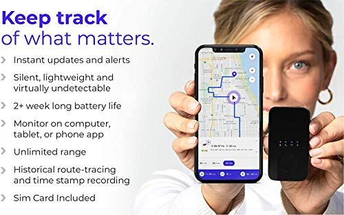 SAFETRACK Personal GPS Tracker for Seniors 2021 Cars Portable PrimeTracking Locator Tracking Device Track in Real Time with SOS Button Mini 4G LTE Vehicle Travel Kids
