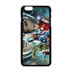 LJF phone case The Avengers Cell Phone Case for Iphone 6 Plus