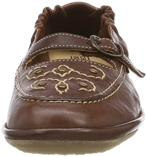 camel active Women's Soft 72 Mocassins Brown (Cognac) aYjdqhJf