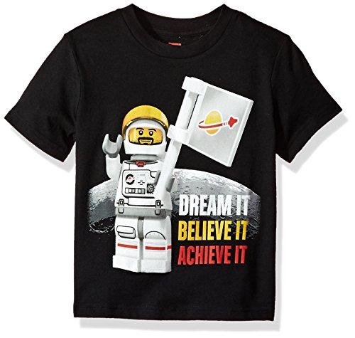 Lego Little Boys' T-Shirt, Black, 5/6