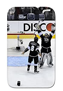 Tpu Case Cover Design Compatible For Galaxy S3/ Hot Case/ Losangeleskings Nhl Hockey Los Angeles Kings (88)