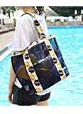 Best FakeFace Toiletry Bags - Fashion Mesh Beach Bag, Lightweight Multifunctional Travel Toy Review