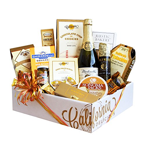 California Delicious Golden State Gourmet Foods Gift Basket, 16 Ounce, 12 Count