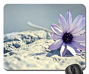 Chanting Melody Mouse Pad, Mousepad (Flowers Mouse Pad, 10.2 x 8.3 x 0.12 inches)