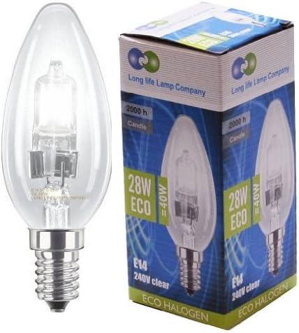 Halogen Candle Light Bulb 28w