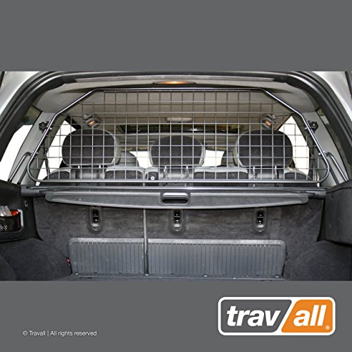 Travall Guard Compatible with Jeep Grand Cherokee (1999-2005) TDG1154 - Rattle-Free Steel Pet Barrier (Steel Jeep Dog)