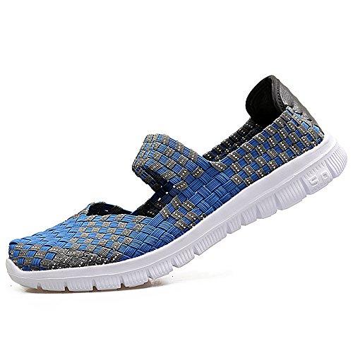 Shoes Femmes Mode La Filles 577 Respirantes Chaussure DC pour Blue des Beach Occasionnels Les Légères an5qRpR