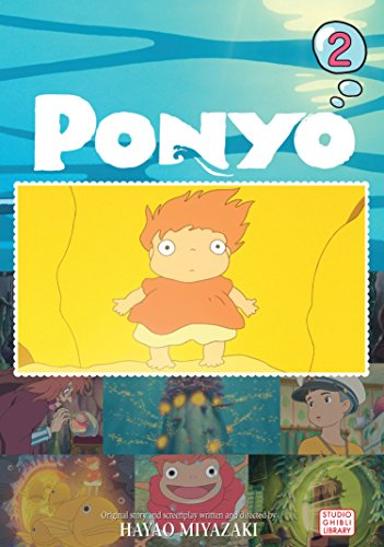 Ponyo Film Comic, Vol. 2 (PONYO ON THE CLIFF)