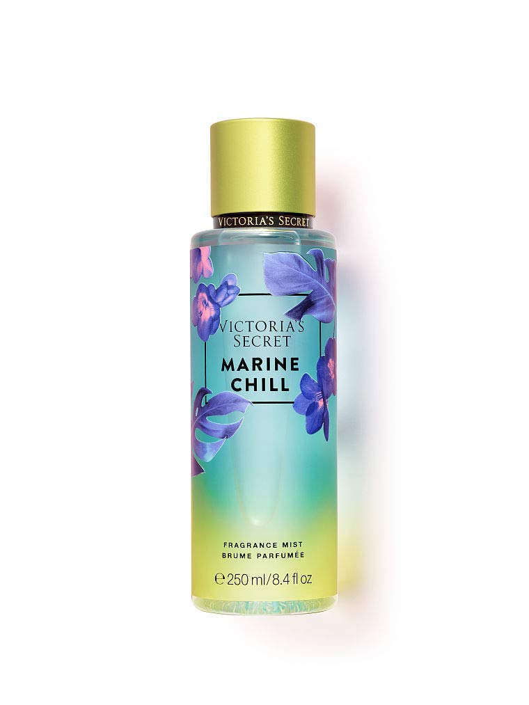 Victoria's Secret Fragrance Body Mist Neon Botanicals 2019 Spring Limited Edition Marine Chill