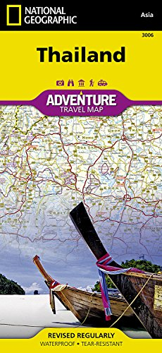 Thailand (National Geographic Adventure Map)...
