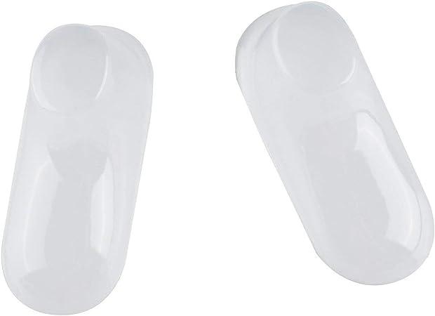 10 piezas de pl/ástico transparente para los pies de beb/é