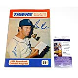 Norm Cash + 2 Others Signed Detroit Tigers Scorebook 1973 Auto - JSA Certified - MLB Programs