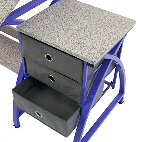 Comet Center with Stool in Purple / Spatter Gray by SD STUDIO DESIGNS (Image #5)