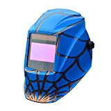 Tyno Safety Auto-Darkening Welding Helmet Wide Shade Range Solar or Battery Powered with 2 Optical Sensors CE/ANSI/CSA Certified