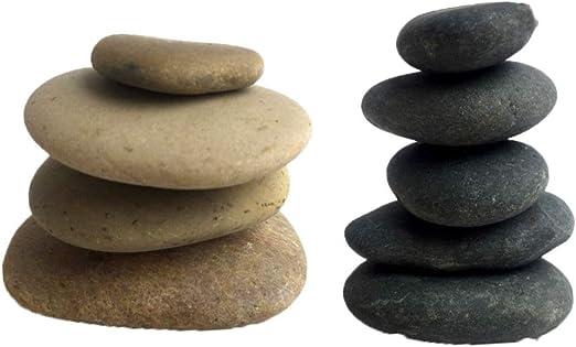 Healifty 10 Piezas Pintura Rocas Rocas Lisas Pintura bondad Rocas Piedras de Cantos rodados para Pintar Manualidades DIY: Amazon.es: Jardín