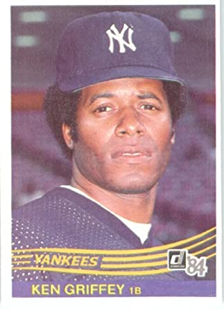 d974a7d68e 1984 Donruss #613 Ken Griffey - New York Yankees (Baseball Cards) at  Amazon's Sports Collectibles Store