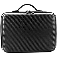 DJI Mavic Air Carrying Case, Waterproof PU Leather Mini Handheld Travel Bag Portable Storage Pack Suitcase Organizer for DJI Mavic Air Drone and Accessories (Handheld Carrying Case)