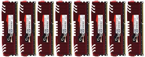 G.SKILL Ripjaws Z Series 64GB (8 x 8GB) 240-Pin DDR3 SDRAM 1600 (PC3 12800) Desktop Memory Model F3-12800CL10Q2-64GBZL