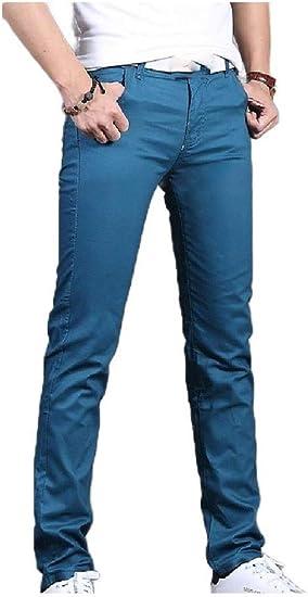 Tootess メンズスリムフィットレグと大きくて背の高いサイズのパンツストレートレッグドレスパンツ