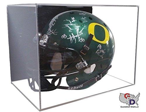 Acrylic Wall Mount Full Sized Football Helmet Display by GameDay Display