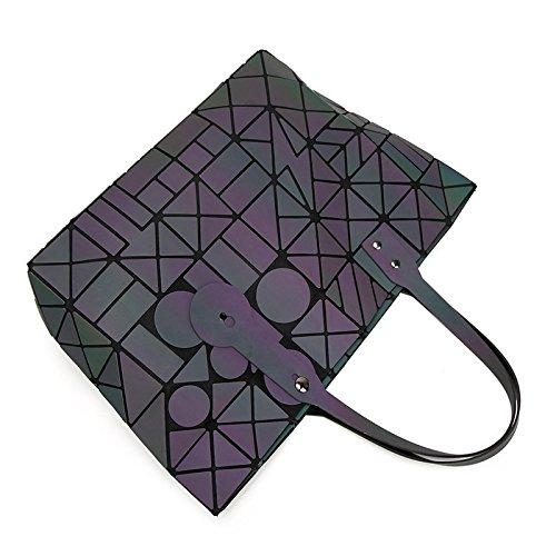 Printemps Géométrie Et Main Main Pliage Onecolor Sac Lingge 7 à à Lumineux été Mode Coloré 8 Sac En qHUw4BR