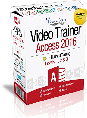 Access 2016 Training Videos Specialist product image