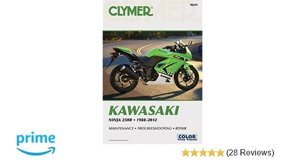 Kawasaki Ninja 250r Ex250 2011 Repair Service Manual Ebook
