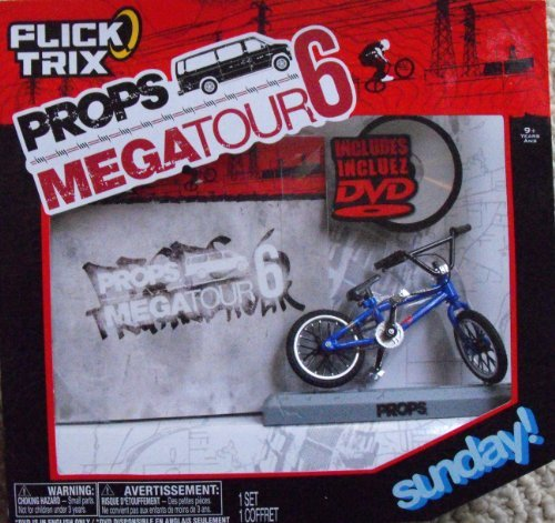 Flick Trix Props DVD 5 with Sunday Blue by Spin Master
