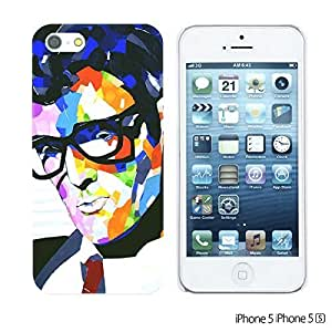 OnlineBestDigitalTM - Celebrity Star Hard Back Case for Apple iPhone 5S / Apple iPhone 5 - Buddy Holly
