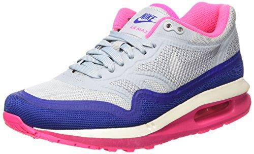 Nike Air Max Lunar1, Chaussures de running femme Light Magenta Grey / Pure Platinum / Hyper Pink