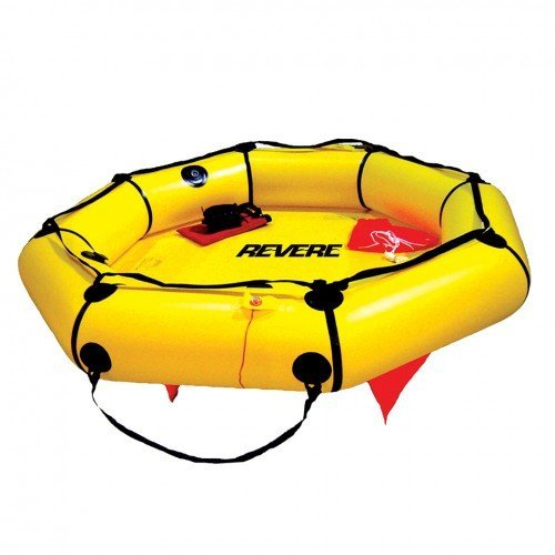 Revere Coastal Compact 2 Person Liferaft with Valise