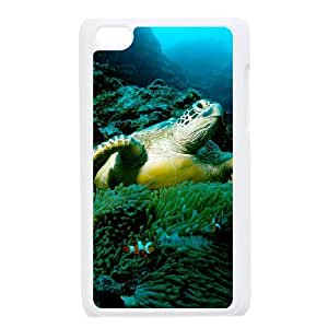 Make Your Own Photos Cover Case for Ipod Touch 4 Phone Case - Sea Turtle HX-MI-009151