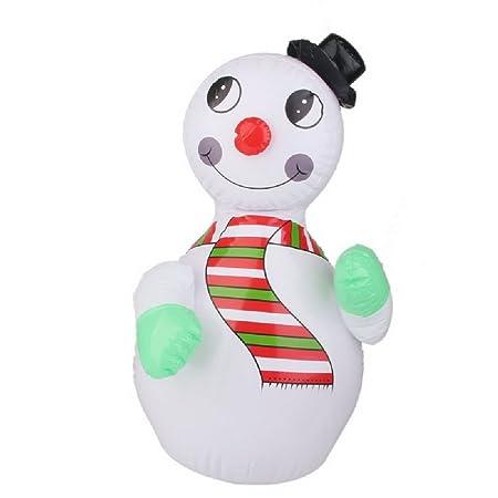 Navidad muñeco de nieve hinchable Blow Up decoraciones de Navidad ...