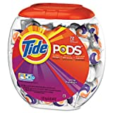 Tide 50978 Detergent Pods, Spring Meadow Scent, 72 Pods/Pack