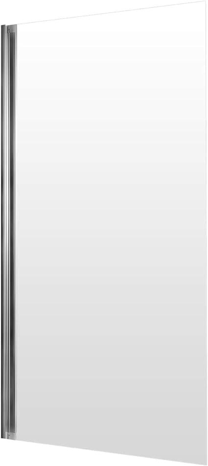 Schulte mampara para bañera 70 x 120 cm, pantalla de mampara de ...